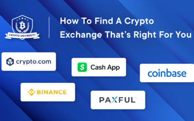 How to Find a Crypto Exchange that's Right for You